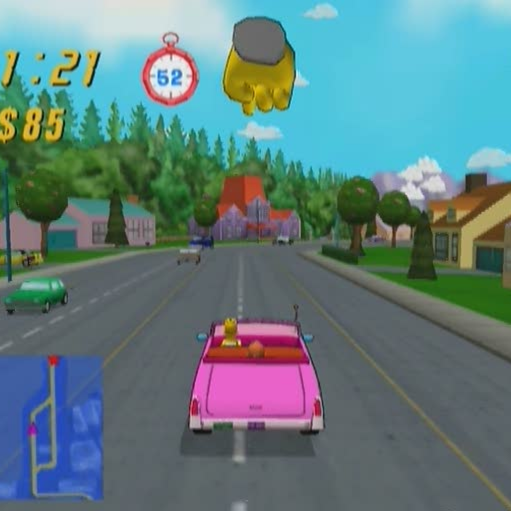 Simpson's Road Rage
